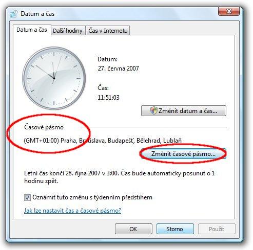 c05ef4160 CZ.NIC - Nastavení synchronizace času s internetovými servery